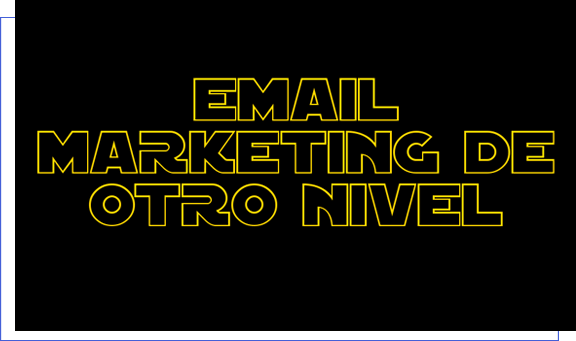 email marketing video starwars